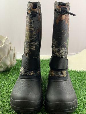 KAMIK Boy's Rocket Camo Insulated Waterproof Snow Boots for Sale in San Fernando, CA