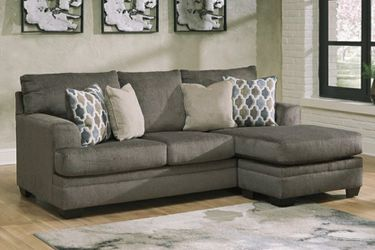 """🏺$39 Down Payment . 🏺🏺Dorsten Slate Reversible Sofa Chaise Dimensions:92"""" W x 62"""" D x 38"""" H for Sale in Beltsville,  MD"""
