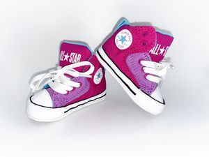 Baby girl converse for Sale in Riverton, UT