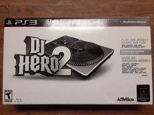 DJ HERO 2 PS3 TURNTABLE BUNDLE for Sale in Phoenix, AZ
