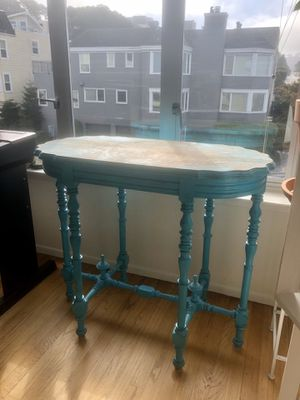 Turquoise Antique Table for Sale in San Francisco, CA