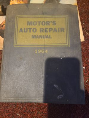 Motors Auto Repair Manual 27th edition 1964 for Sale in Hazelwood, MO