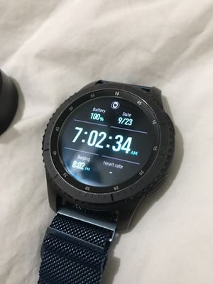 Samsung Gear S3 Frontier sell or trade for Sale in Grapevine, TX
