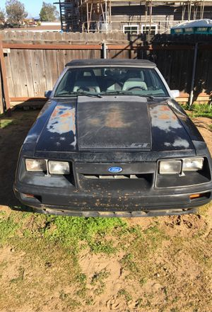 '85 mustang convertible for Sale in Fallbrook, CA