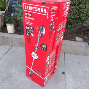 """NEW WEED WECKER GAS CYCLE 25CC 18"""" ELECTRIC START CAPABLE,MULTI YARD TOOL for Sale in Los Angeles, CA"""