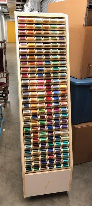 Embroidery Thread and stand for Sale in Grand Prairie, TX