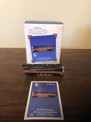 Hallmark Ornament Lionel Daylight Steam Locomotive for Sale in Centreville, VA