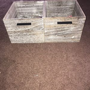 Wooden Storage Bins for Sale in St. Charles, IL
