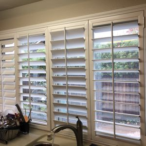 Variety Of Sizes Vinyl Plantation Shutter for Sale in Orangevale, CA