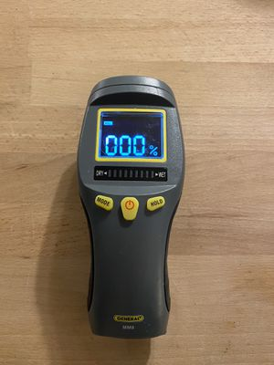General Tools MM8 Pinless LCD Moisture Meter with Tricolor Bar Graph - Model MM8 for Sale in Littleton, CO