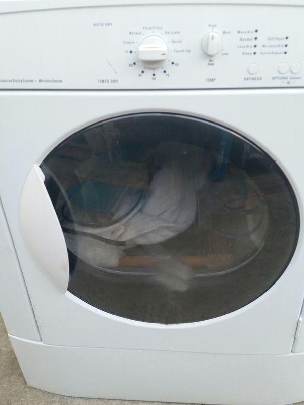 Electric dryer 60 days warranty
