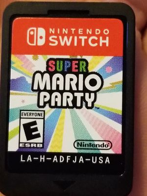 Super Mario party switch for Sale in Wheat Ridge, CO