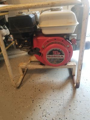 Honda water pump 5.0hp for Sale in Fairfax, VA