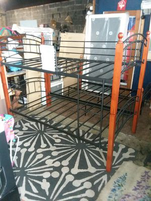 Bunk beds metal and wood New for Sale in Philadelphia, PA