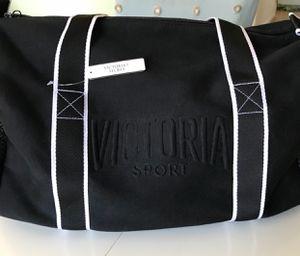 Victoria Secret Sport black duffel bag for Sale in Minot, ND