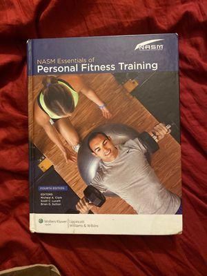 Nasm textbook for Sale in Garnerville, NY