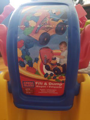 Mega Bloks Fill & Dump Wagon for Sale in Milton, DE