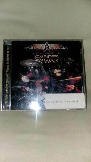 Star Trek Starfleet Command Volume 2 Empires at War PC Computer for Sale in Toms River, NJ