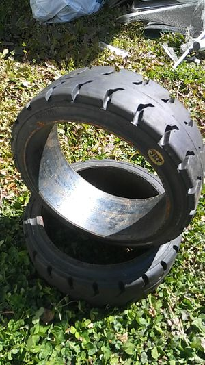 Two brand new forklift tires for Sale in Chesapeake, VA