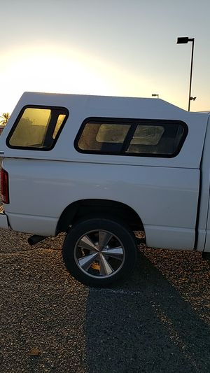 ford camper shell fresh paint. 7 feet by 6 feet. white color for Sale in Phoenix, AZ