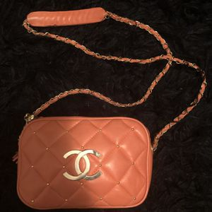 🍊 Tangerine Orange Chanel bag available🍊 for Sale in Houston, TX