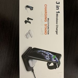3 In 1 Wireless Charger For iPhone, Androids, AirPods, Apple Watch for Sale in Dixon, CA