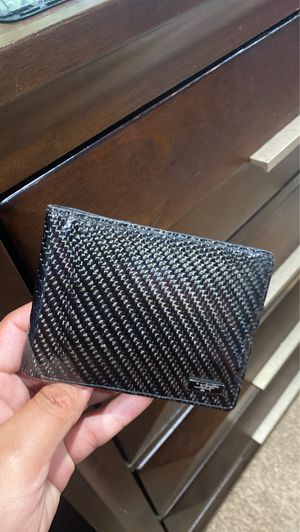 Used Carbon Fiber Wallet for Sale in Fountain Valley, CA