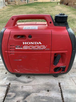 Honda 2000i generator has the 30 amp plugin runs great for Sale in Gilbert, AZ