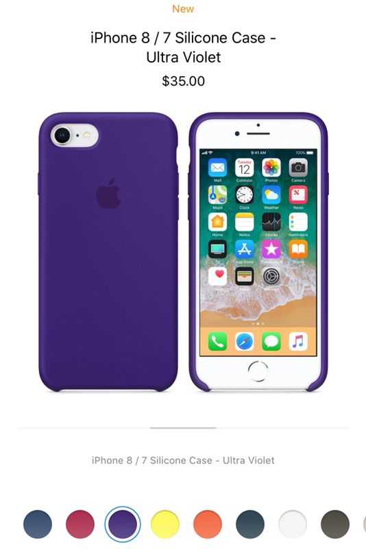 info for 0456b 65e74 Apple iPhone 8/7 Plus Silicone Case Ultra-Violet for Sale in Fremont, CA -  OfferUp