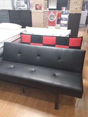 New futon bed leather for Sale in Corona, CA