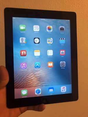 "iPad 2nd 16 gb Unlocked 9.7"" Display, Wi-Fi, black for Sale in Norco, CA"