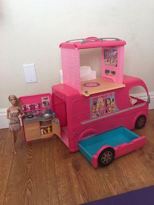 Barbie camper, car and boat! for Sale in Las Vegas, NV