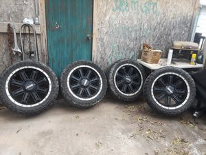 """22""""wheels and tires for Sale in San Angelo, TX"""