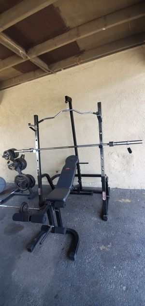 Squat rack, bench press for Sale in Westminster, CA