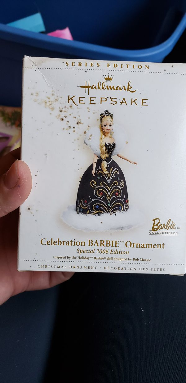 Barbie Christmas ornament