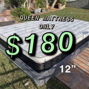BRAND NEW PILLOW TOP MATTRESSES💯 Warranty/Garantía ‼️⚠️ $20 Delivery Fee ‼️ ✅ LOCATED IN LOS ANGELES CA ✅ (EK/CK )King Mattress $250 ❌ $330 With for Sale in Los Angeles, CA