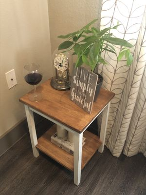 Rustic Farmhouse Accent Table for Sale in The Woodlands, TX