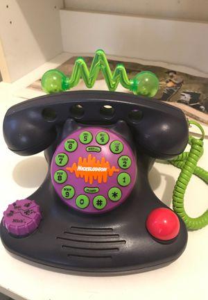 90s Nickelodeon Talk Blaster Phone for Sale in Bell Gardens, CA