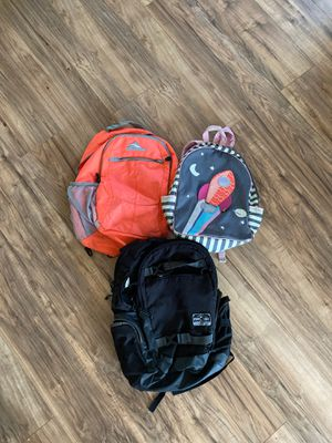 Backpacks/Bookbags (3) for Sale in Cleveland, OH