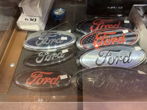 Ford logo emblem replacement different options to choose from! F150 excursion expedition fusion mustang e150 work van f-250 f-350 for Sale, used for sale  Indianapolis, IN