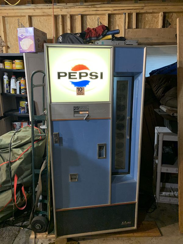 Pepsi machine 1997