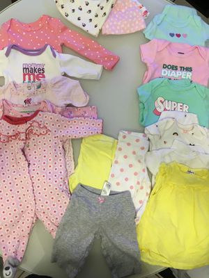 Baby girl clothes Newborn for Sale in Coral Springs, FL