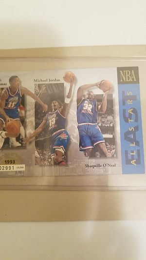 Michael Jordan card with other players in the Play off s Limited no. FromThe 1990's!! for Sale in Amarillo, TX