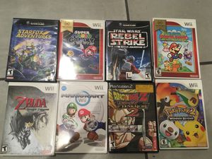 Nintendo wii and Gamecube games for Sale in Los Angeles, CA