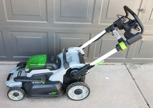 EGO 20 inch 56 volt cordless lawn mower / mower only... for Sale in Mesa, AZ