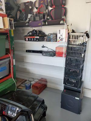 Closet style wire metal shelf shelves shelfs for Sale in Homestead, FL