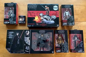 Star Wars 6 inch Black Series Lot for Sale in Severna Park, MD