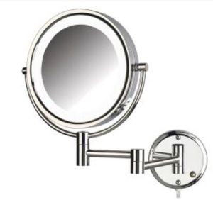 LED Lighted Wall Mount makeup mirror for Sale in Great Falls, VA