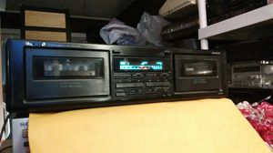 Onkyo dual cassette tape deck works perfect for Sale in Corona, CA