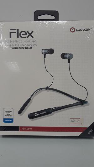 WoozikFlex Stereo Sport Headphones for Sale in Ottumwa, IA